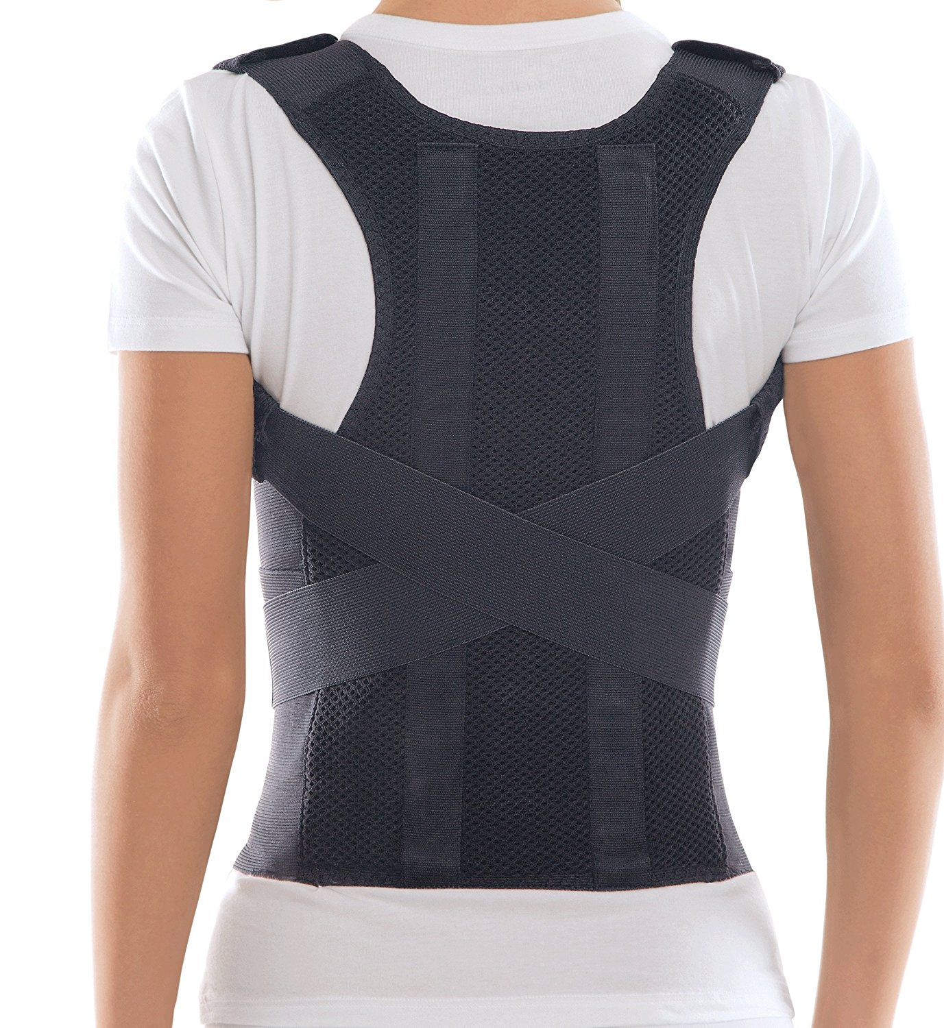 643913517dcb3 Posture Corrector from TOROS GROUP. Special Feature  The lumbar pad is  indulged in this posture brace. Key features  + adjustable shoulder belt ...